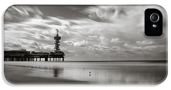 Pier End IPhone 5 Case by Dave Bowman