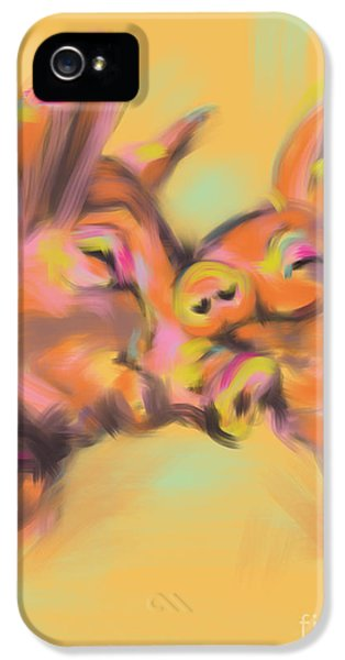 Piggy Love IPhone 5 / 5s Case by Go Van Kampen