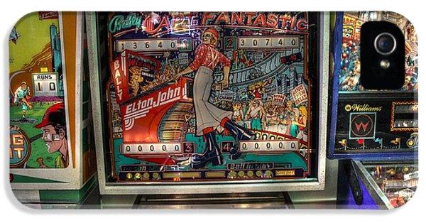 Elton John iPhone 5 Case - Pinball Elton John Bally by Jane Linders