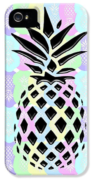 Pineapple Collage IPhone 5 Case