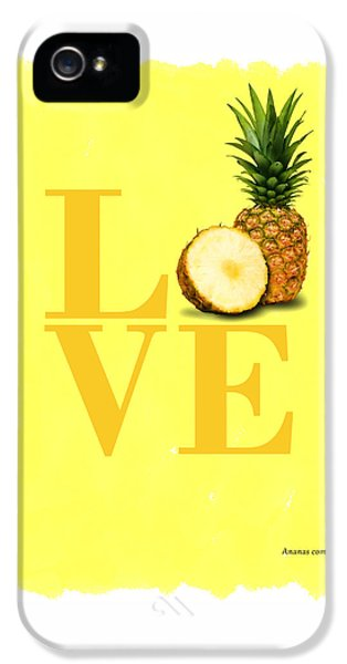 Pineapple IPhone 5 Case by Mark Rogan