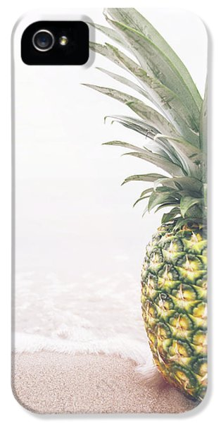 Pineapple On The Beach IPhone 5 Case
