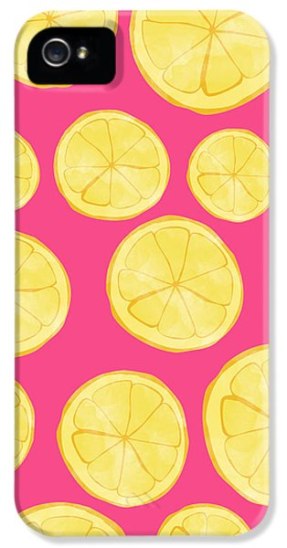 Pink Lemonade IPhone 5 Case by Allyson Johnson