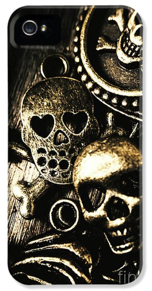 IPhone 5 Case featuring the photograph Pirate Treasure by Jorgo Photography - Wall Art Gallery