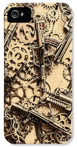 Pistol Parts And Rifle Pinions IPhone 5 Case by Jorgo Photography - Wall Art Gallery