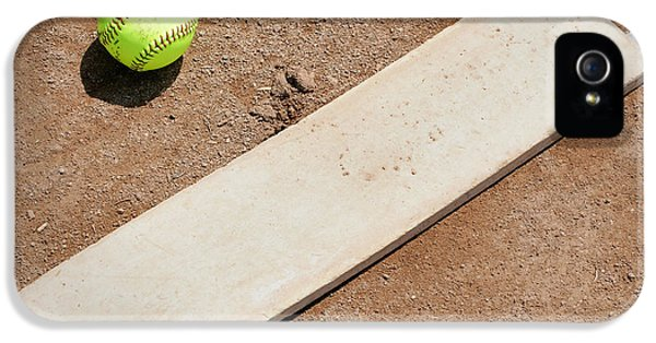 Softball iPhone 5 Case - Pitchers Mound by Kelley King