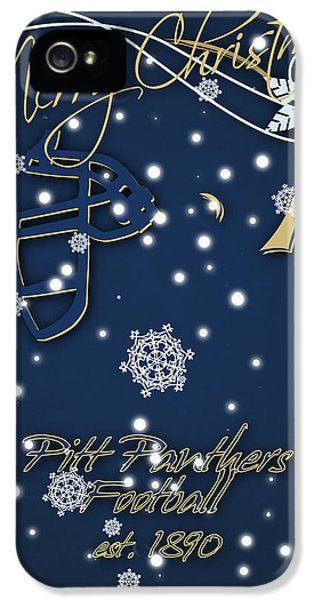 Pitt Panthers Christmas Cards IPhone 5 Case