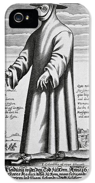 Plague Doctor, 17th Century Artwork IPhone 5 Case