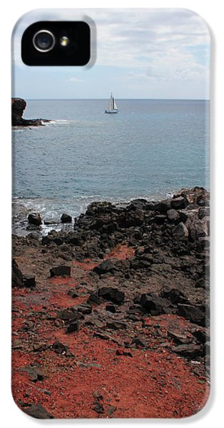 Canary iPhone 5 Case - Playa Blanca - Lanzarote by Cambion Art
