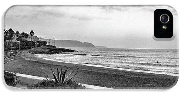 Place iPhone 5 Case - Playa Burriana, Nerja by John Edwards