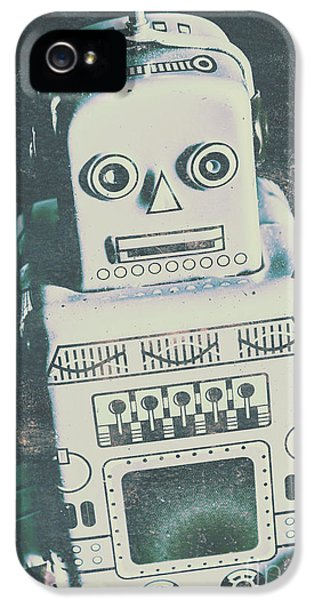 Playback The Antique Robot IPhone 5 Case by Jorgo Photography - Wall Art Gallery