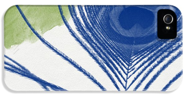Plumage 3- Art By Linda Woods IPhone 5 Case