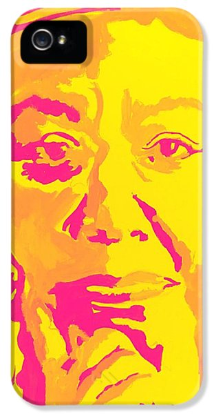 Poetically Speaking  IPhone 5 Case by Miriam Moran