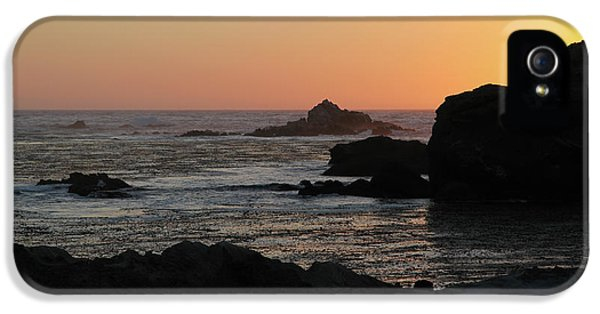 IPhone 5 Case featuring the photograph Point Lobos Sunset by David Chandler