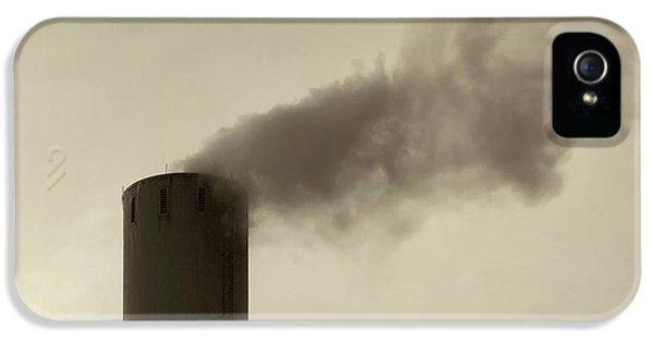Pollution IPhone 5 Case by Wim Lanclus