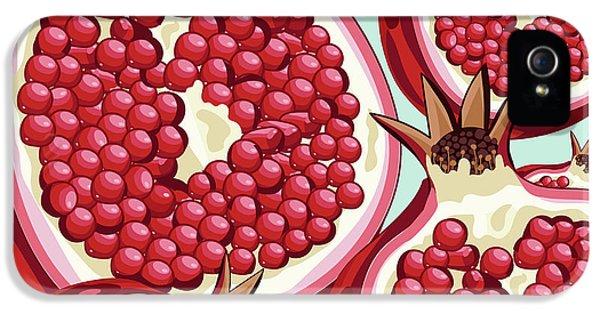 Pomegranate   IPhone 5 Case