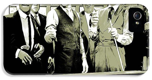 Frank Sinatra iPhone 5 Case - Pool Sharks by Greg Joens