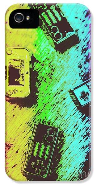 Pop Art Video Games IPhone 5 Case