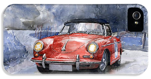 Porsche 356 B Roadster IPhone 5 Case