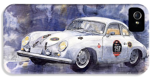 Porsche 356 Coupe IPhone 5 Case by Yuriy  Shevchuk