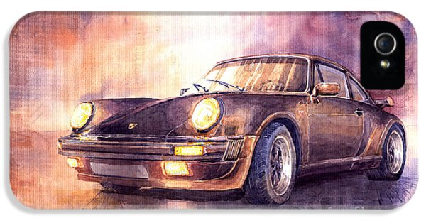 Porsche 911 Turbo 1979 IPhone 5 Case by Yuriy  Shevchuk