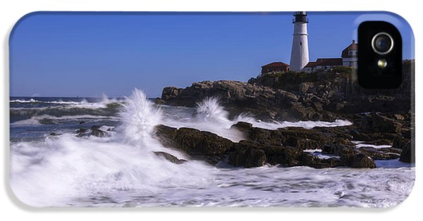 Portland Head Light I IPhone 5 Case by Chad Dutson