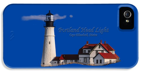 Portland Head Light No. 43 IPhone 5 Case by Mark Myhaver