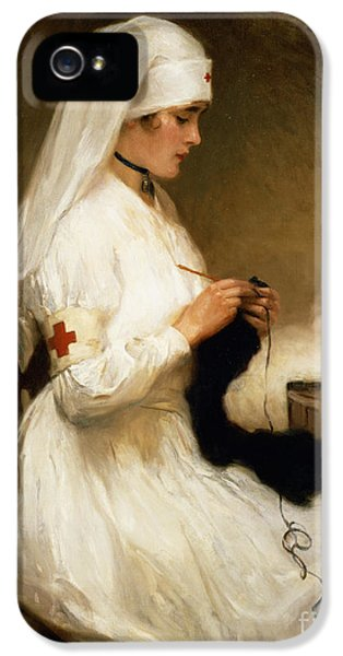 Portrait Of A Nurse From The Red Cross IPhone 5 Case