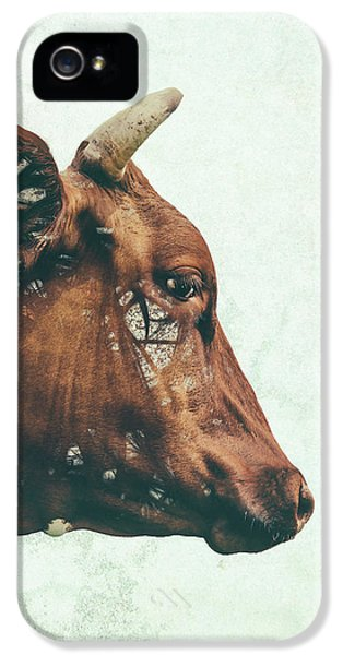 Portrait Of Bess IPhone 5 Case by Katherine Smit
