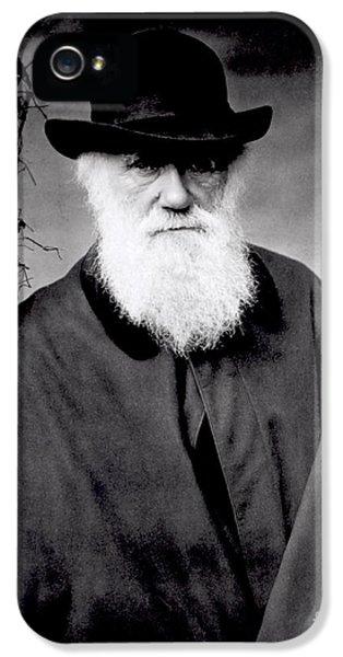 Portrait Of Charles Darwin IPhone 5 Case