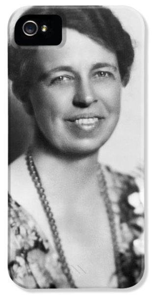 Portrait Of Eleanor Roosevelt IPhone 5 Case by Underwood Archives