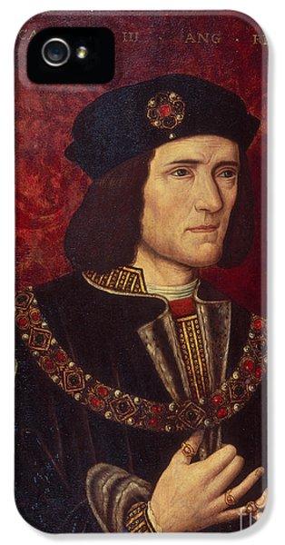 Portrait Of King Richard IIi IPhone 5 Case