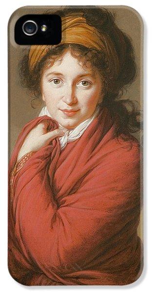 Portrait Of The Countess Nikolai Nikolaevich Golovin IPhone 5 Case