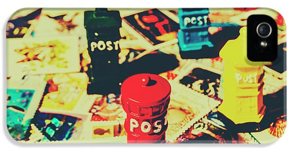 Pendant iPhone 5 Case - Postage Pop Art by Jorgo Photography - Wall Art Gallery