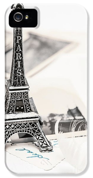 French iPhone 5 Case - Postcards And Letters From Paris by Jorgo Photography - Wall Art Gallery