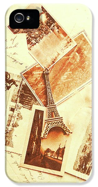 Postcards And Letters From The City Of Love IPhone 5 Case