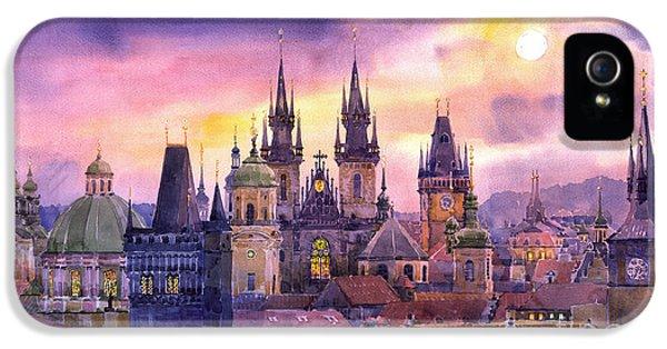 Prague City Of Hundres Spiers Variant IPhone 5 Case by Yuriy  Shevchuk