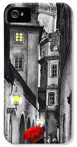 Prague Love Story IPhone 5 Case