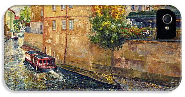 Prague Venice Chertovka 2 IPhone 5 Case