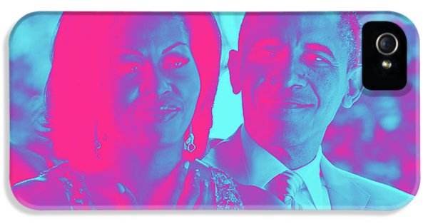 President Barack Obama And The First Lady Michelle Obama IPhone 5 / 5s Case by Asar Studios