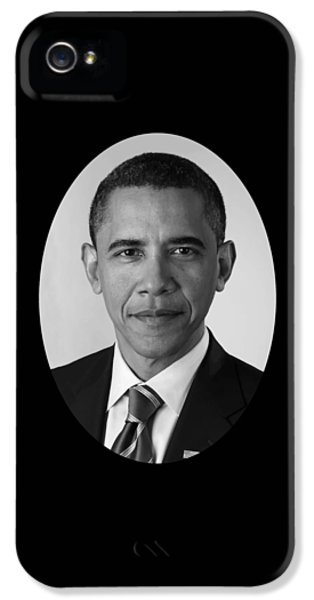 President Barack Obama IPhone 5 Case by War Is Hell Store