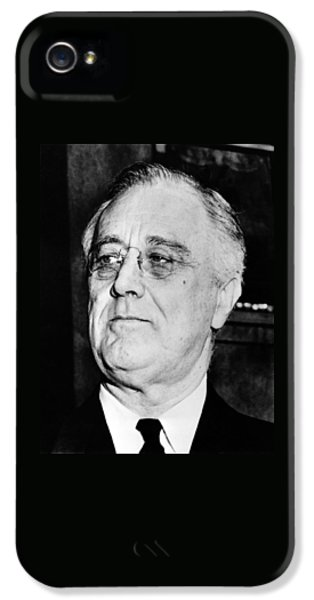 President Franklin Delano Roosevelt IPhone 5 Case by War Is Hell Store