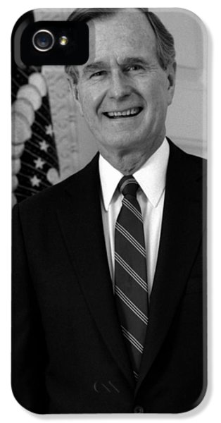 President George Bush Sr IPhone 5 Case