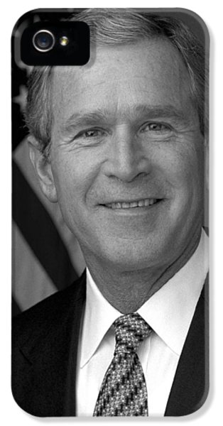 President George W. Bush IPhone 5 / 5s Case by War Is Hell Store