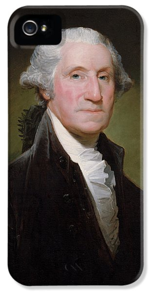 Landmarks iPhone 5 Case - President George Washington by War Is Hell Store