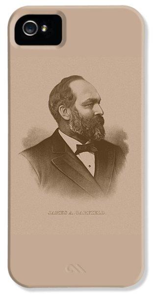President James Garfield IPhone 5 Case