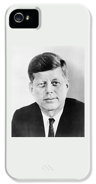 Pig iPhone 5 Case - President John F. Kennedy by War Is Hell Store