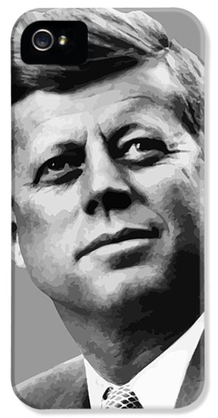Pig iPhone 5 Case - President Kennedy by War Is Hell Store