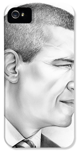 President Obama IPhone 5 Case by Greg Joens