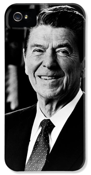 President Ronald Reagan IPhone 5 / 5s Case by International  Images